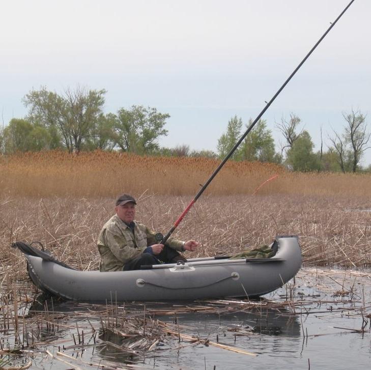 рыбалка в тростнике