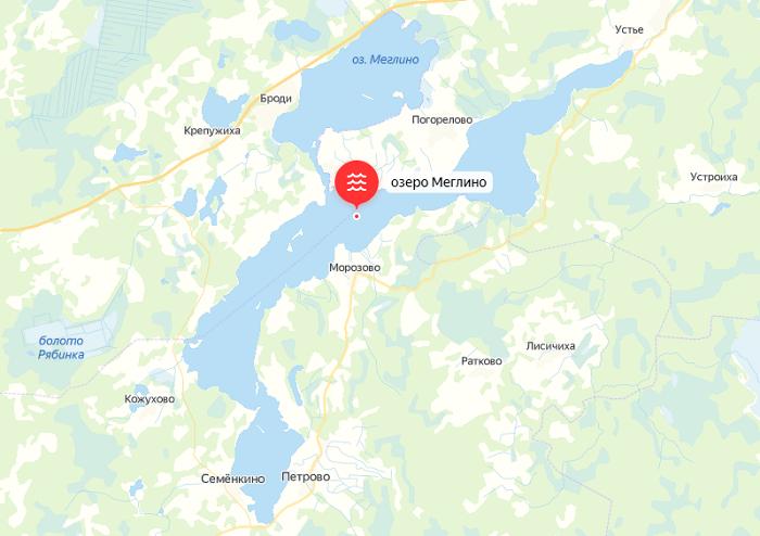 Рыбалка озеро Меглино в Новгородской области
